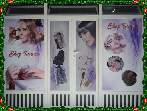 """بالصور و الفيديو افتتاح صالون للحلاقة و التجميل و تزيين العرائس""""CHEZ IMANE"""""""