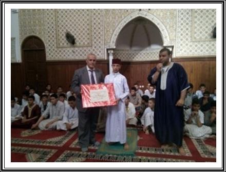 المدير الإقليمي يشرف على مبادرة تضامنية مع مدرسة السلام للتعليم العتيق من طرف ثانوية دكالة التأهيلية