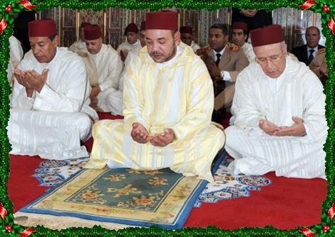 الملك محمد السادس يفتتح الدرس الأول لشهر رمضان