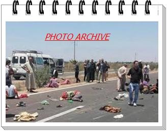 عاجل:حادثة سير خطيرة تخلف اصابات بليغة بالقرب من ضريح لالة عائشة البحرية بأزمور