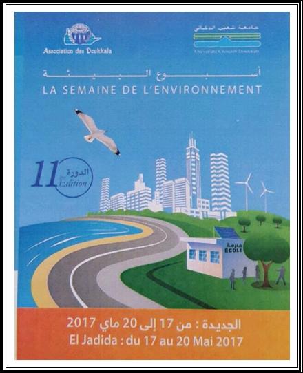 """الجديدة:أسبوع البيئة تحت شعار:""""اعداد التراب و التنمية المستدامة:الرهانات و الآفاق"""""""