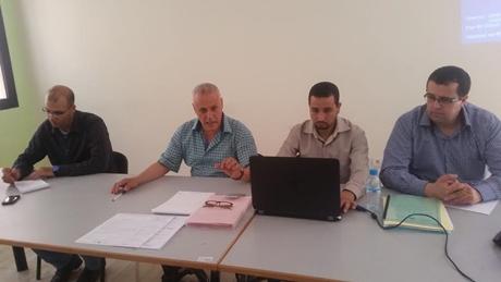 لقاء تنسيقي-تعبوي بين مديرية سيدي بنور ومديرة ومديري السلك الثانوي بشقيه