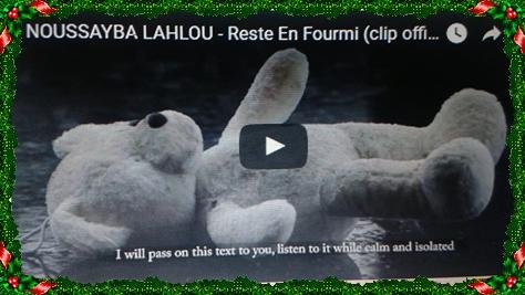 (POESIE URBAINE: NOUSSAYBA LAHLOU RESTE EN FOUURMI(CLIP OFFICIEL