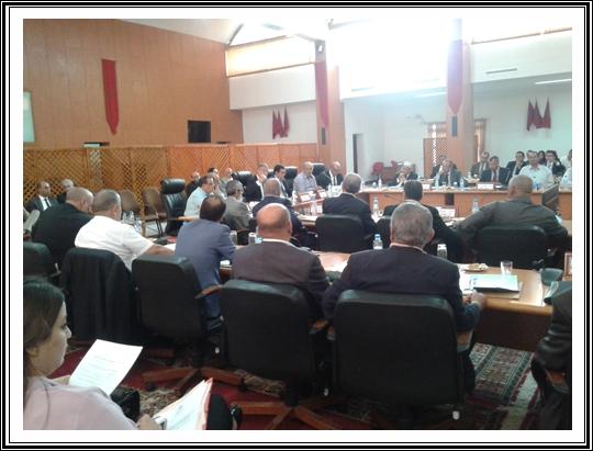 الجديدة:المجلس الاقليمي يعقد دورة يولوز الاستثنائية