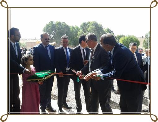 محمد الكروج عامل الجديدة يدشن عدة مشاريع ب3 جماعات بالاقليم بمناسبة عيد العرش