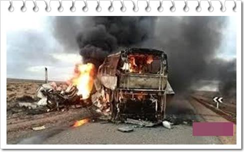 هذا ما وقع لشاحنات تابعة للدرك الملكي بمدخل مدينة الحسيمة