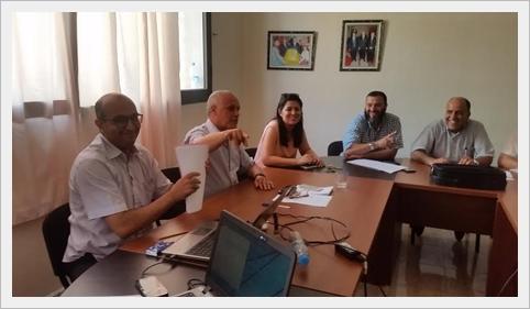 مديرية سيدي بنور وهيأة الإدارة التربوية ثانوي في اجتماعات تنسيقية تحضيرا للدخول المدرسي 2017/2018