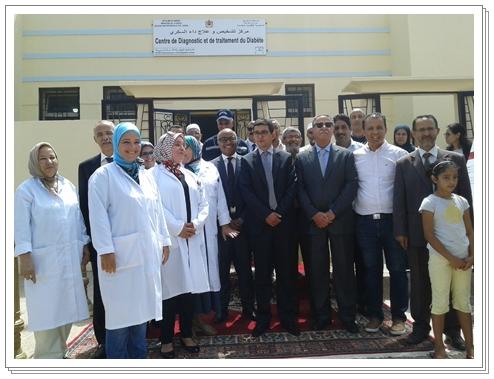 افتتاح مركز صحي بالجديدة يعنى بمرضى داء السكري بالاقليم