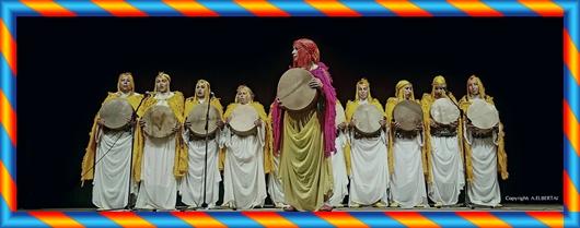 المهرجان الوطني لفن أحيدوس الدورة السابعة عشرة  عين اللوح ايام 25 و26 و27 غشت 2017