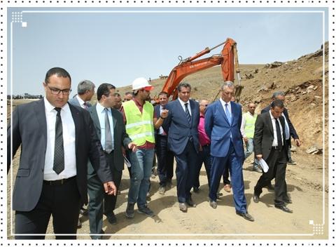 أخنوش يقف على تقدم أشغال المشاريع الفلاحية بإقليم الحسيمة.