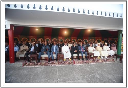 البيان الصحفي رقم 4:اختتام فعاليات موسم مولاي عبد الله أمغار بتوزيع الجوائز وإطلاق الشهب الإصطناعية