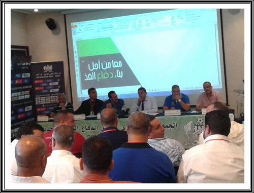 الدفاع الحسني الجديدي لكرة القدم يعقد جمعه العام السنوي