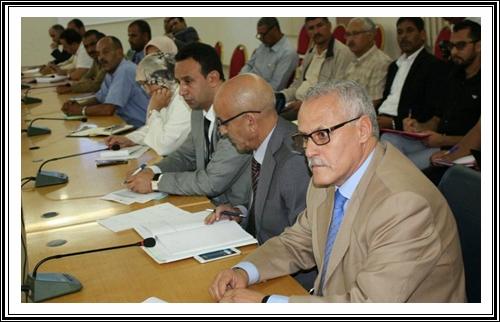 عامل إقليم سيدي بنور يترأس لقاء حول الدخول المدرسي بحضور مدير الأكاديمية والمدير الإقليمي
