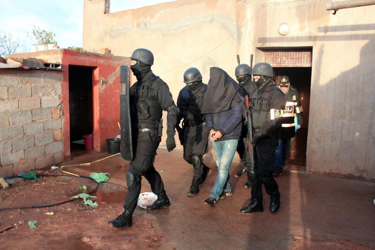 سيدي بنور:مشتبه فيه بتنظيم ارهابي بين يدي شرطة المكتب المركزي للأبحاث القضائية
