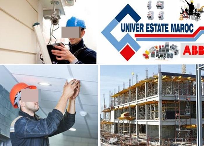 """مادة اشهارية:مقاولة """"UNIVER ESTATE MAROC"""" للأعمال المتنوعة تنزل الى السوق بمنجزات ذات جودة و ماركات مسجلة"""