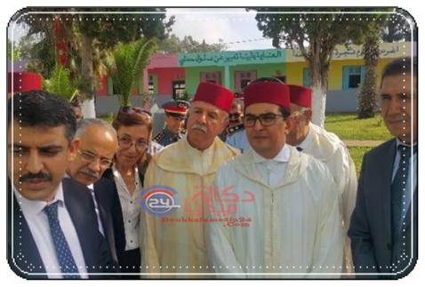 وفد رسمي يرافق عامل الجديدة للاشراف على توزيع مليون محفظة بمدرسة سيدي اعلي