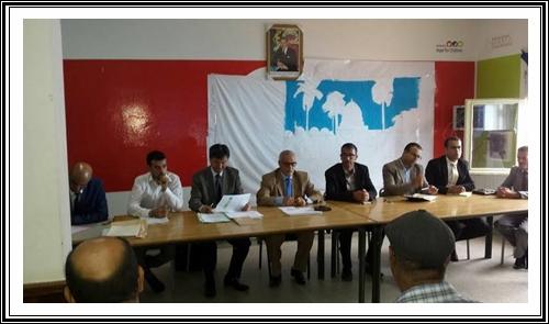 الخبراء اليابانيون يؤطرون لقاء في إطار مشروع PEEQ بمديرية سيدي بنور