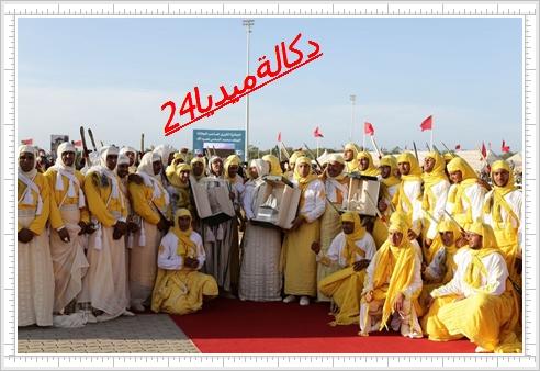 معرض الفرس:تتويج سربة عزيز الفاتحي بالجائزة الكبرى لصاحب الجلالة الملك محمد السادس للتبوريدة