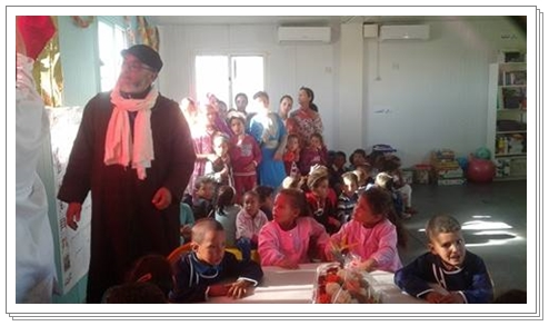 جماعة اولاد رحمون اشعلت فتيل شمعة التعليم الاولي