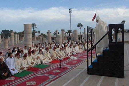 صلاة الاستسقاء بجميع ربوع المملكة تنفيذا لتعليمات صاحب الجلالة