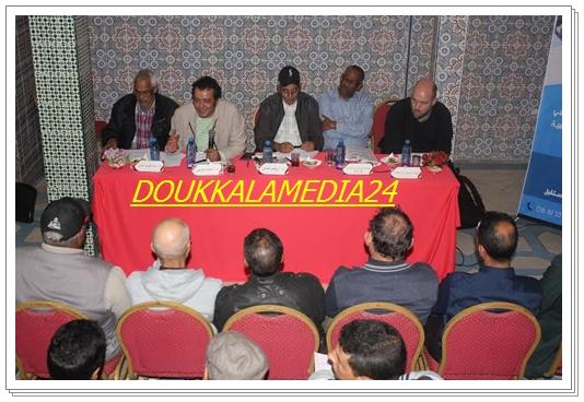 الجديدة:النقابة المغربية لمهنيي الفنون الدرامية تشعل شمعة التأسيس