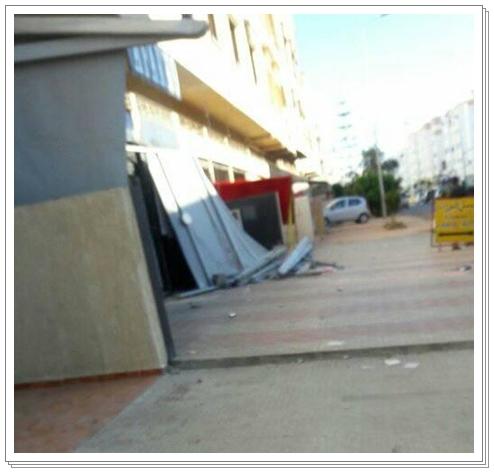الجديدة:حي ملك الشيخ يخضع لعملية تحرير الملك العمومي