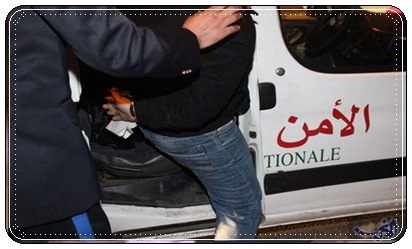 فرار مبحوث عنه و بيده سلاح وظيفي لرجال الأمن بمدينة برشيد