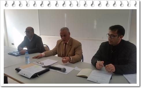 مديرية سيدي بنور تنظم لقاءات تنسيقية مع مديرات ومديري المؤسسات التعليمية