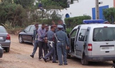 درك اولاد افرج:دوريات تتحرك لرصد المجرمين و مروجي السموم