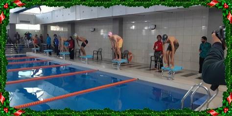 سباحة:مسبح مدرسة اسكول أكاديمي كان قبلة لنادي الدفاع الحسني الجديدي للسباحة