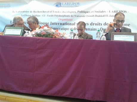 الكلية المتعددة التخصصات بجامعة شعيب الدكالي بالجديدة تنظم ندوة دولية حقوقية