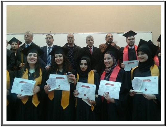 Cérémonie de remise des diplômes aux lauréats de trois masters spécialisés à la Faculté Polydisciplinaire d'El Jadida