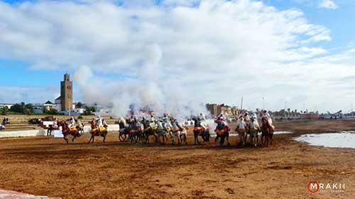 فروسية:المهرجان الربيعي للفروسية بجماعة مولاي عبد الله يستقطب آلاف المولعين و الزوار