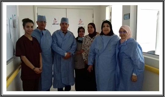 حملة لجراحة العيون بمستشفى محمد الخامس بالجديدة