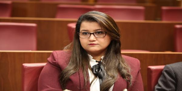 دبلوماسية:بفوز النائبة الشابة مريم وحساة بمنصب هام ببرلمان إفريقيا وهزمها لممثلة جبهة البوليزاريو الوهمية يكون المغرب قد وجه صفعة اضافية الى صنيعة الجزائر