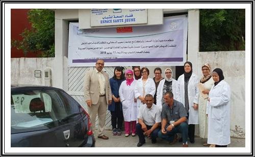 طب الاسنان للمندوبية الاقليمية للصحة بالجديدة يحل بمخيم الحوزية