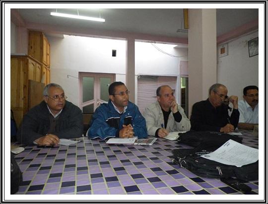توضيح من المستقيلين من المكاتب النقابية بإقليم الجديدة إلى أعضاء المكتب الوطني للنقابة الوطنية للتعليم كدش