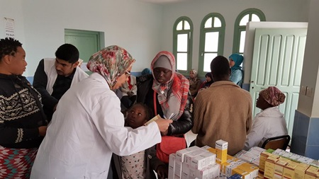 حملة طبية مجانية بفضاء الصحة للشباب لفائدة المهاجرين المتواجدين بمدينة الجديدة