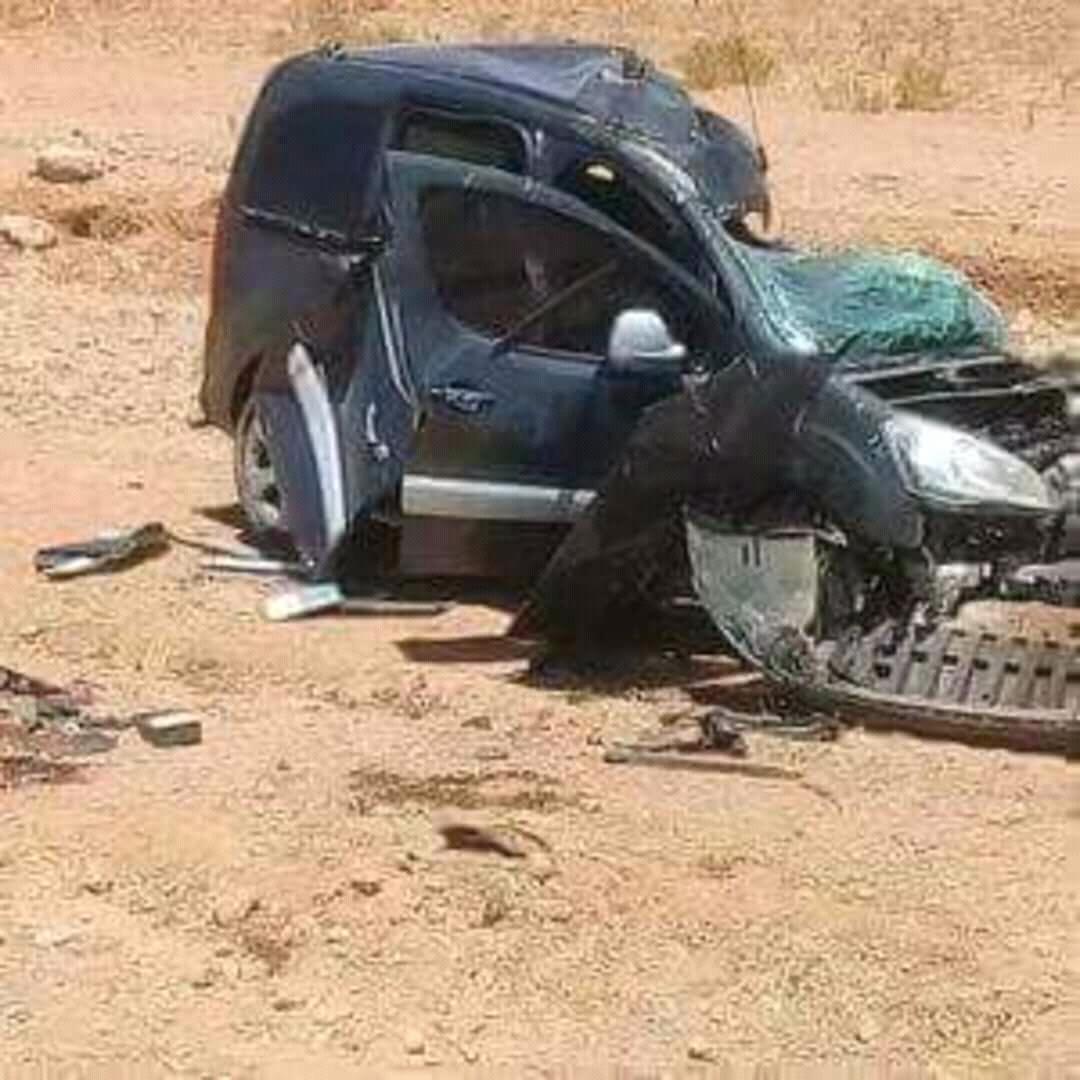 حادثة سير تودي بحياة 5 أفراد من عائلة واحدة