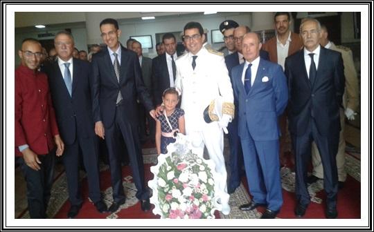 الوكيل العام بالجديدة يترأس احتفالات عيد العرش بقصر العدالة