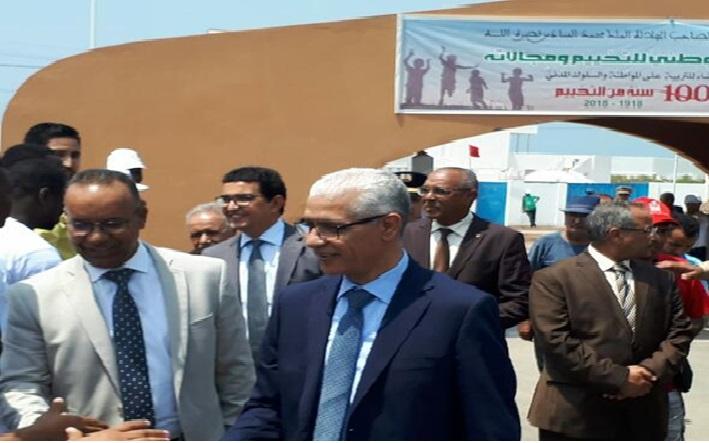 وزير الشباب و الرياضة يقوم بزيارة الى كل من الجديدة , مولاي عبد الله و شاطئ الحوزية