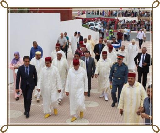 الافتتاح الرسمي للولي الصالح مولاي عبد الله تحت اشراف عامل الاقليم و الوفد المرافق له