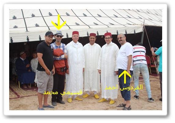 استدعاء الفردوس أحمد و القسيمي محمد ثنائي تنشيط محرك مولاي عبد الله اعتبارا لكفاءتهما