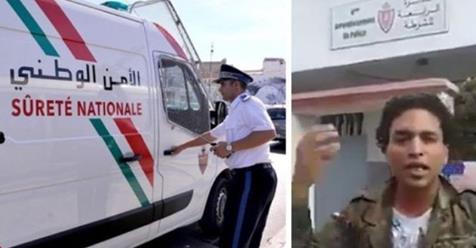 """هذه هي توضيحات المديرية العامة للأمن الوطني على واقعة فيديو الدائرة الأمنية """"4"""" بالجديدة"""
