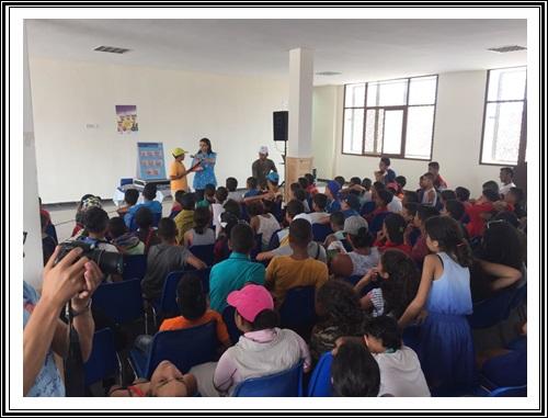 برنامج تحسيسي لفائدة أطفال المخيم الصيفي و الأطر التربوية بالحوزية