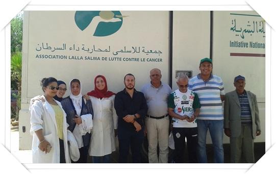 جماعة لغديرة:قافلة طبية تحط الرحال بالجماعة للكشف المبكر عن سرطان التدي