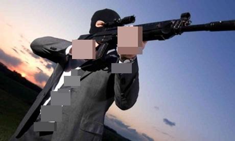 مقدم شرطة بفرقة الدراجين بالبرنوصي بالبيضاء يوقف مجرما بطلق ناري