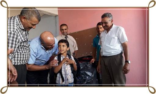 جماعة لغديرة تسعد تلاميذ المؤسسات التعليمية بمستلزمات الدراسة في عملية استحسنتها الأسر المعوزة