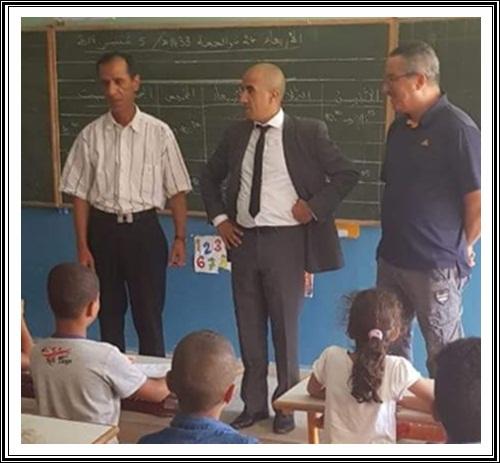 التعليم و قضاياه احدى النقط التي أولاها المجلس الاقليمي أهمية في دورة شتنبر الجاري