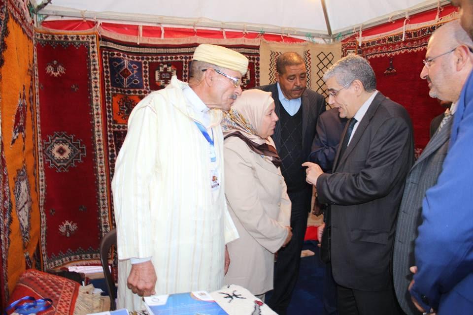 إنطلاق المعرض الإقليمي للصناعة التقليدية بورزازات